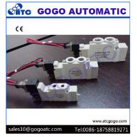 Wholesale High Frequency Solenoid Valve , Inner Guide Type Pneumatic Micro Valve 5 Way 1/8 from china suppliers