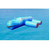 Wholesale 0.9mm (40oz) PVC Tarpaulin Inflatable Water Obstacle Course For Pool from china suppliers