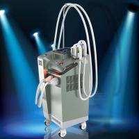 Wholesale Three Cooling Systerm Shr Hair Removal IPL RF Elight Machine Two Handles from china suppliers