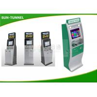 Wholesale Bank Usage Prepaid Card Kiosk , Vandal Proof Camera Computer Kiosk With Cash Acceptor from china suppliers