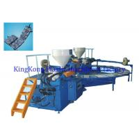 Wholesale Horizontal 2 Colors Shoe Sole Manufacturing Machine For PVC / TPR / TR Sole from china suppliers