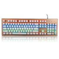 Wholesale Mechanical Gaming Multimedia Bezel Keyboard USB Interface104 Keys from china suppliers