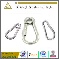 Wholesale good price 6mm Stainless Steel Locking EyeLet Carbine Hook made in china from china suppliers