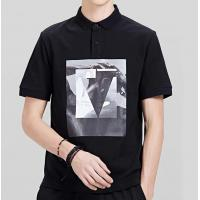 Wholesale High End Mens Short Sleeve Polo Shirts Golf Clothes Lightweight Screen Printing from china suppliers