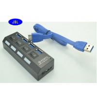 Wholesale 3.0 Cable USB Ethernet Adapter Hub , Network Attached UBS Hub For Card Reader from china suppliers