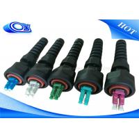 Wholesale PE Jacketed Outdoor Fiber Optic Patch Cord With ODVA LC Connector IP67 from china suppliers