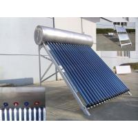Wholesale Compact Pressurized Solar Water Heater 180L , Stainless Steel Outer Tank from china suppliers