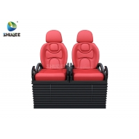 Wholesale Electric 5D Movie Theater System 5D Motion Chair With Vibration Push back Leg tickler from china suppliers