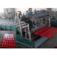 Wholesale Metal Glazed Tile Roll Forming Machine High speed For Roofing Sheet from china suppliers