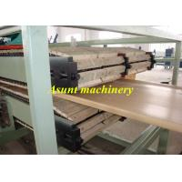 Quality PLC touch screen  Foamed WPC PVC Plastic Profile Production Line Co-extrusion for sale