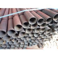 Quality Carbon Welded Round Metal Steel Pipe ASTM A53 Grade B , Copper Coated Surface Treatment for sale