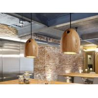 Quality Fasion Wooden Lighting Pendants Made In China Ash Wood 150 X 190 mm for sale
