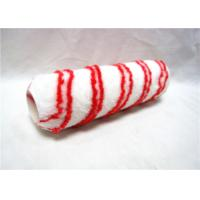 "Wholesale 7"" Red And White Stripe PP Rod Paint Rollers For Smooth Finish With Plastic Handle from china suppliers"