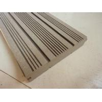 Quality Chinese hollow wpc decking with recycled materials with CE certificiate for sale