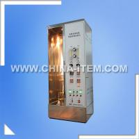 Wholesale IEC 60332-1-1 Single Vertical Insulated Wire Flame Chamber Tester from china suppliers