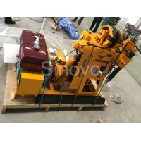 Wholesale Sinovo Spindle Exploring  Core Drilling Rig XY-1 with drilling depth 100m and rated power 15.7KW from china suppliers