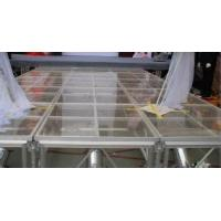 Wholesale Portable Glass Acrylic Stage Platform For Performances 1.22 * 2.44M from china suppliers