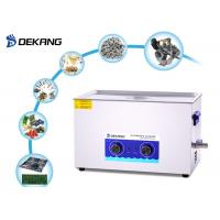 Buy cheap Adjustable Mechanical Ultrasonic Cleaner 22L With Timing / Heating Function from wholesalers
