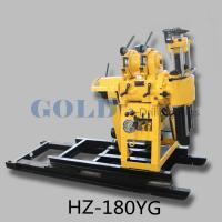 Wholesale HZ-180YG mineral drilling rig, 30m to 180 m drilling depth soil investigation from china suppliers