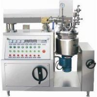 Quality Vacuum Homogenizing Emulsifier for sale