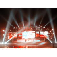 Wholesale Advertising LED Screen Stage Backdrop , Stage LED Display 640mm x 960mm from china suppliers