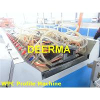Wholesale PVC WPC Plastic Profile Production Line / Door Frame Profile Plastic Sheet Extrusion Machine from china suppliers
