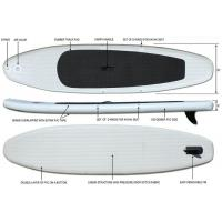 Wholesale 330cm Extra Light Inflatable Standup Paddleboard 15lbs 5 Thickness For Yoga On A Water from china suppliers