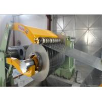 Wholesale GI coil / Aluminum / Steel Slitting Line Steel Roll Forming Machine from china suppliers