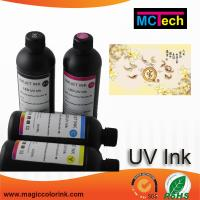 Wholesale Top quality LED UV ink for Epson printhead 500ml UV Curable Inkjet Marking Ink from china suppliers