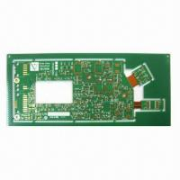 Wholesale 6-layer Rigid-flex Board with ENIG Surface Finish and 1.6±0.16mm Thickness from china suppliers
