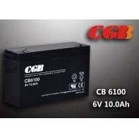 Quality CB640 Alarm Lighting Backup 6v 10ah Battery Non Spillable Maintenance Free for sale