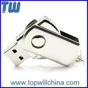 Wholesale Noble Slim Metal Twist Usb Thumbdrive Pendrives Free Shipment 2GB 4GB 8GB from china suppliers