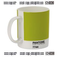 Wholesale GIFTS PANTONE colors mug to your LOVER NO.7744 from WWW.CNGO.BIZ china ceramic mugs from china suppliers