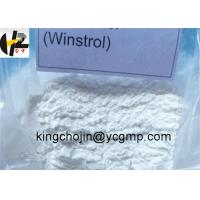 Wholesale Assay 99% Oral Anabolic Steroids Stanozolol Winstrol 10418-03-8 Body Building from china suppliers