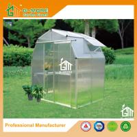 Wholesale 4'x6'x6.7'FT Silver Color Easy DIY Barn Style Garden Greenhouse from china suppliers