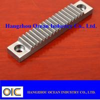 Wholesale M4 Steel Gear Rack With Low Noise / Smooth And Steady CNC Machined from china suppliers