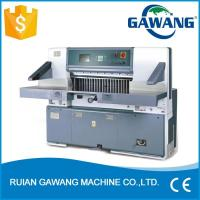 Wholesale Microcomputer Single Hydraulic Industrial Guillotine Paper Cutting Machine from china suppliers