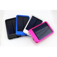Wholesale 4000mah,5000mah Full Capacity Solar Power Bank for mobile phone Device from china suppliers
