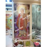 Wholesale Decorative Glass Partition Wall -- Buddha Painting from china suppliers