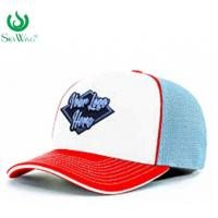 China Eco - Friendly Custom Fitted Baseball Hats 2D Flat Embroidered Logo Advertising on sale