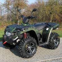 Wholesale Oil Cooled 400cc Four Wheel Atv Double / Single A - Arm With Aluminum Rim Electric Shift from china suppliers