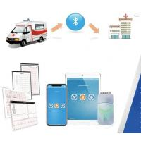 Buy cheap Wireless Ecg Machine  By Bluetooth Connection For iOS Devices With Three colors Small Box from wholesalers