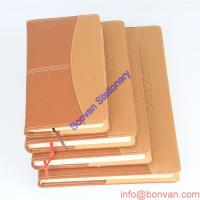 Wholesale a5 a6 custom wholesale leather journal with logo embossed,custom paper leather book from china suppliers