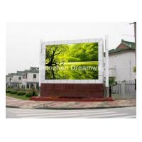 Buy cheap 2R1G1B DIP Outdoor Advertising LED Screen Display 8000 CD / Commercial Center P16 LED display from wholesalers
