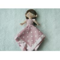 Wholesale Lovely Princess Sharp Infant Security Blanket / Comfort Blanket For Baby Light Weight from china suppliers