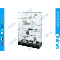Wholesale OEM Laminate Base Glass Display Counter / Frameless Free Showcase from china suppliers