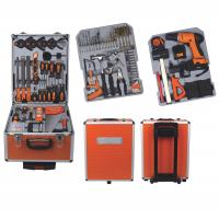 Wholesale 147Ppcs Drill Screwdriver Multifunction Household Cordless Power Tool Set with Aluminum Case from china suppliers