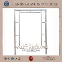 Wholesale 1200MM width round welding galvanized frame scaffolding system Q235 materials from china suppliers