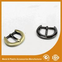 Quality Thick Flat Wire Buckle 34.5X27X20MM Metal Zinc Bag Buckle / Handbag accessory for sale
