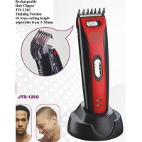 Wholesale Ji Teng Hair Clipper household JTS-126C rechargeable DC motor Adjustable ElectricTrimmer  with charging adaptor Cordless from china suppliers